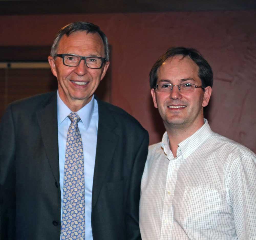 Dr. Richard Krim and Dr. Ellis Stonehocker